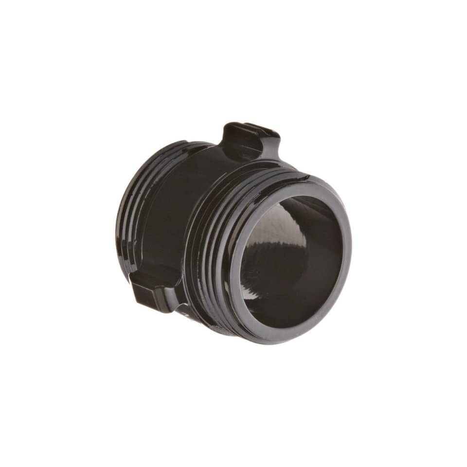 Moon 378 1521524 Aluminum Fire Hose Adapter, Rocker Lug, 1 1/2 NH x 1 1/2 NH Double RL Male