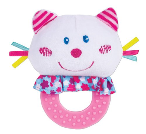 Small World Toys All About Baby Infant - Teething Buddies-- Kitty