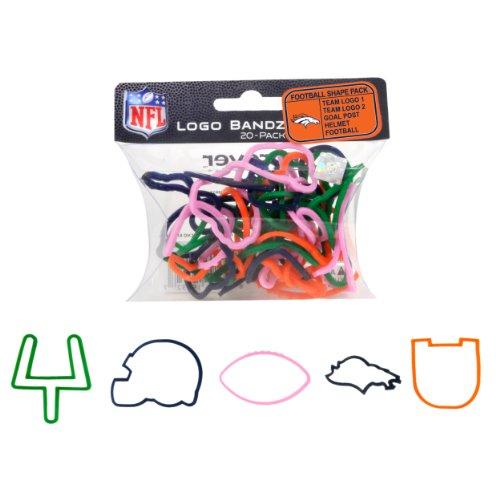 Goto NFL Denver Broncos Logo Bandz Details
