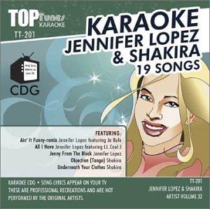 Jennifer Lopez - Top Tunes Karaoke CDG TT-201 Artist Vol. 32 Jennifer Lopez & Shakira - Zortam Music