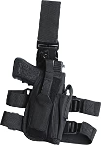 Kombat Tactical Leg Holster Black