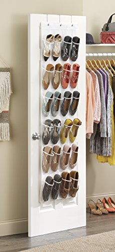 Whitmor-Crystal-Clear-Over-The-Door-Shoe-Organizer
