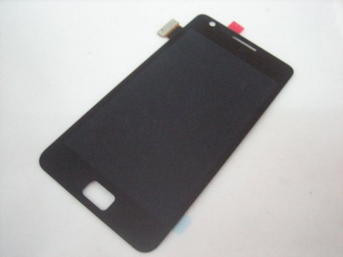 Full Lcd Screen Display + Touch Screen Digitizer Front Glass Faceplate Lens Part Panel For Samsung Galaxy S 2 Ii I9100 ~ Mobile Phone Repair Parts Replacement