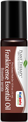 Frankincense Pre-Diluted Essential Oil Roll-On 10 ml (1/3 fl oz). Ready to use!