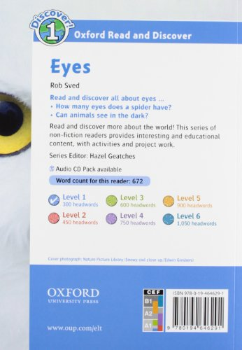 Oxford Read and Discover: Oxford Read & Discover. Level 1. Eyes: Audio Pack