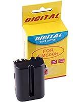 Photoprimus® Batterie de rechange de haute capacité pour Sony NP-FM-500H avec 7.2V et 1980 mAh pour appareil numérique, compatible avec: Sony Alpha DSLR-A350 SLT-A58 DSLR-A100 DSLR-A200