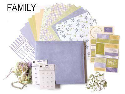 Chatterbox 8x8 Album Project Kit-Family