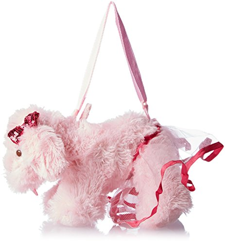 Olly & Friends Girls' Handbag Size Shaggy Dog with Sequin Bows and A Tutu - 1