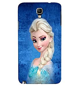 Fuson 3D Printed Girly Designer back case cover for Samsung Galaxy Note 3 Neo N7505 - D4573