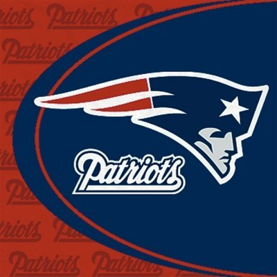 New England Patriots Luncheon Napkins - 16 Pack