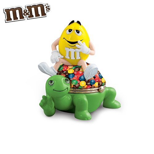 M&M'S That's Friendship In A Nutshell Music Box by The Bradford Exchange