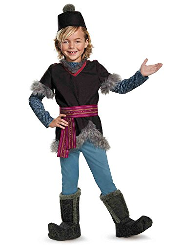 Disguise Kristoff Deluxe Child Frozen Disney Costume, Small/4-6