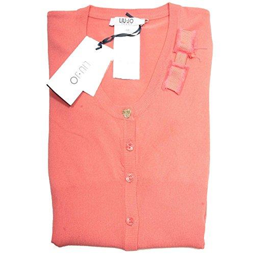 85106 cardigan LIU JO JEANS VISCOSA MANICA LUNGA maglia maglione donna sweater w [XS]