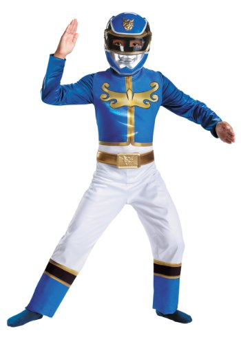 Disguise Power Ranger Megaforce Blue Ranger Boy's Classic Costume