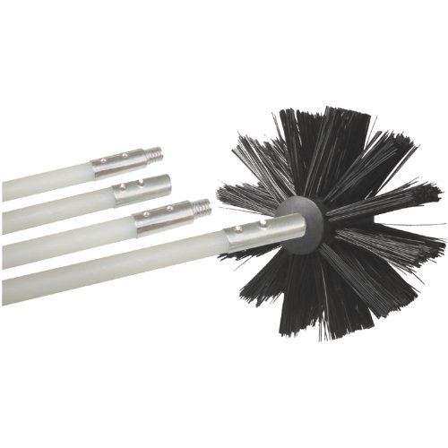 Deflecto DVBRUSH8K/2 8-Feet Dryer Duct Cleaning Kit (Dryer Vent Deflector compare prices)