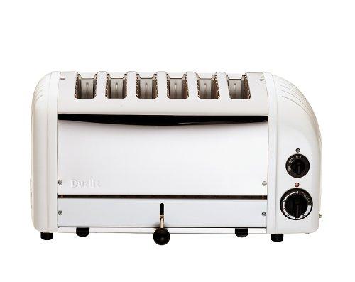 Dualit 6 Slice Toaster White 60146