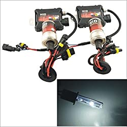 See Carking? 12V 35W H1 8000K Warm White Light HID Xenon Kit , Black Details