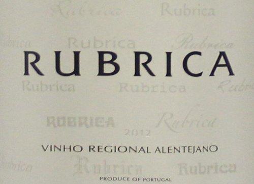 2012 Rubrica Blend - White Alentejo 750 Ml