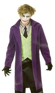 Mens LG (42-44)- Psycho Clown Costume in Velvet (Shirt/Make-up not incl)
