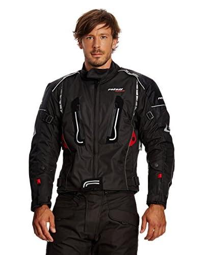 Roleff Racewear Giacca Moto [Nero/Rosso]
