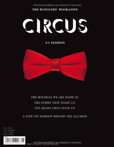 CIRCUS - The Bloggers' Bookazine: #1 Fashion (English and German Edition)