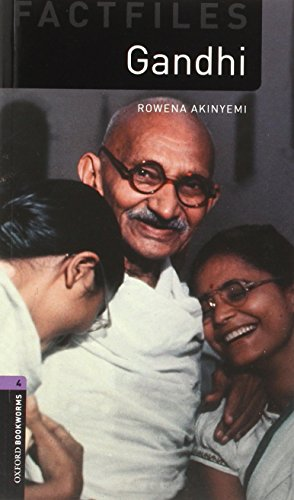 Oxford Bookworms Library Factfiles: Stage 4: Gandhi (Oxford Bookworms ELT)