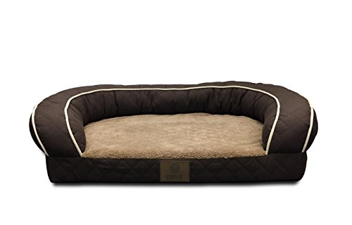 American-Kennel-Club-AKC1852BROWN-Orthopedic-Sofa-Bed-Quilted