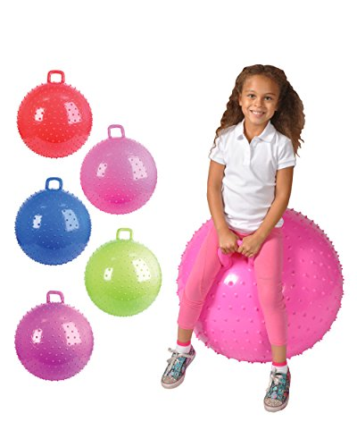 """36"""" Knobby Bouncy Ball With Handle (Colors May Vary) front-929284"""