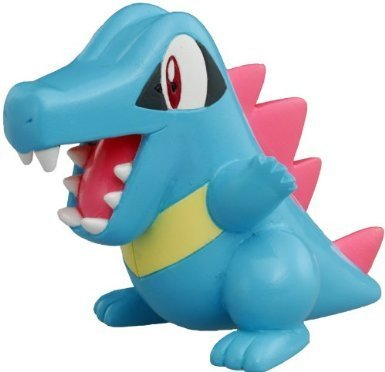 "Takaratomy Totodile (MC-19): Pokemon Monster Collection 2"" Mini Figure - 1"