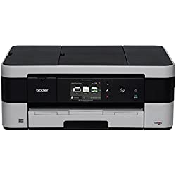 Brother MFC-J4620DW Wireless Color Inkjet All-In-One Printer with Duplex (Black)