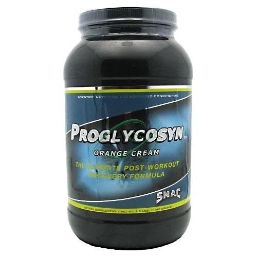 Proglycosyn, Post-Workout Recovery, Orange-Vanilla Cream, 2.5 lbs, From SNAC