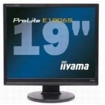 IIYAMA PLE1906S-B ProLite E1906S-1 19 inch Monitor SXGA TFT LCD 800:1 250cd/m2 1280 x 1024 5ms D-Sub/DVI-D (Black)