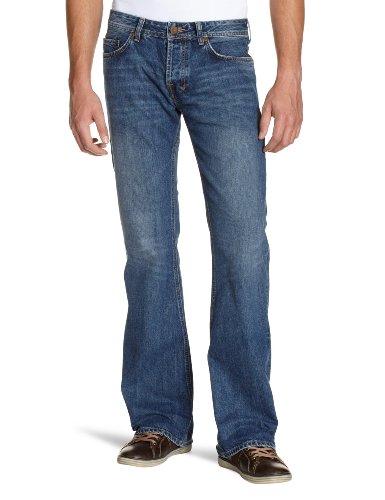 LTB Herren Tinman Bootcut Jeans Blau Denim Jeanshose 2 Years Wash W28 W34