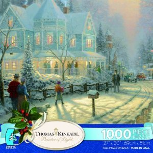 Ceaco Thomas Kinkade National Lampoon's Christmas Vacation Puzzle (1000 Piece)