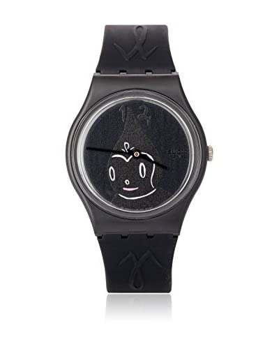 Swatch Quarzuhr Unisex SWATCH-MIDNIGHT MAGI GB249 34 mm