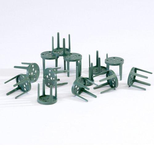 confezione-da-100-puntine-verdi-in-plastica-per-giardino