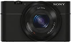 Sony Cybershot DSC-RX100 20.2MP Digital Camera 3.6x Optical Zoom (Black)