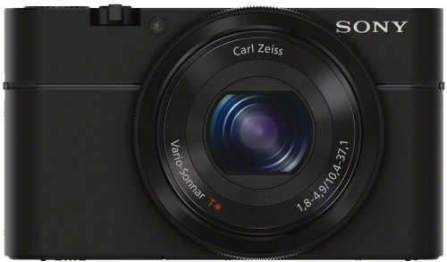 Sony DSC-RX100/B 20.2 MP Exmor CMOS Sensor Digital Camera with 3.6x Zoom