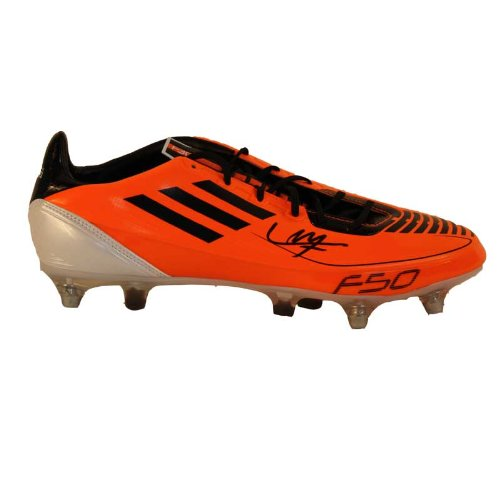 Luis Suarez Signed Boot