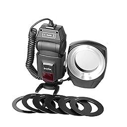 Godox Ml-150 Macro Ring Flash Led Light For Nikon Canon Olympus Pentax