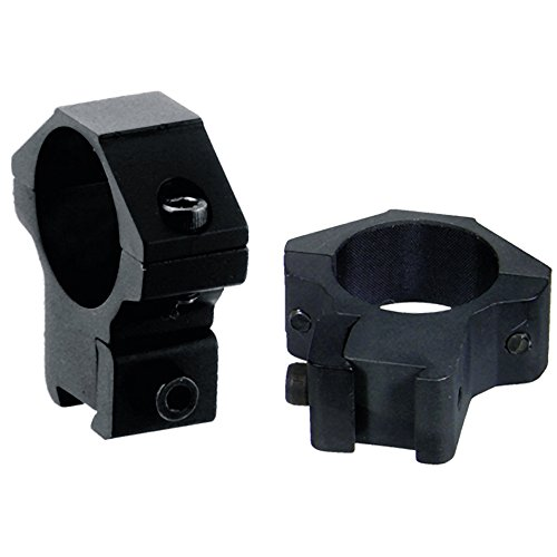 Leapers Accushot 1 Rings, Medium, 3/8 Dovetail, 4 Screws/Cap (Mid Profile Scope Rings compare prices)