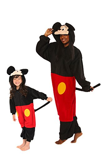 Mickey Mouse Kigurumi (All Ages Costume)