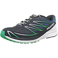 Salomon Men's Sense Mantra 3 Running Shoe (Blue/White/Green)
