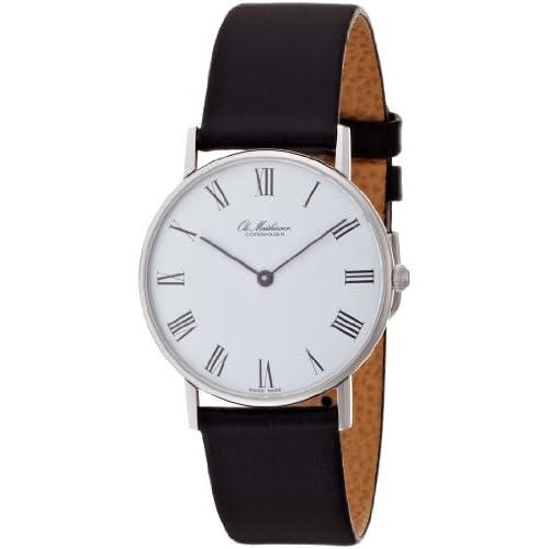 [オーレ・マティーセン]Ole Mathiesen 腕時計 ROMAN.WHITE DIAL OM1.33 メンズ [正規輸入品]