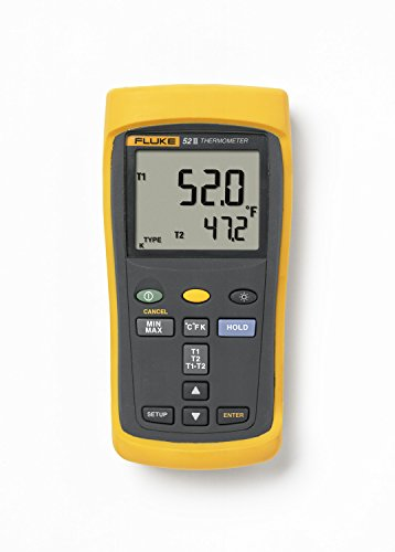 Fluke 52-2 60HZ Dual Input Digital Thermometer