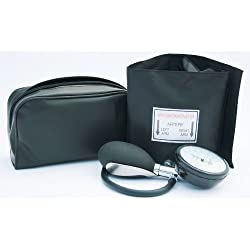 ICE Medical - Sfigmomanometro, set di misurazione della pressione sanguigna, stetoscopio incluso