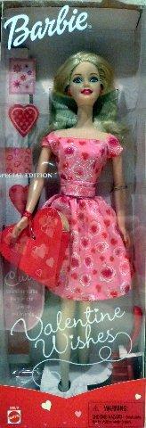 Barbie Valentine Wishes Doll 2001