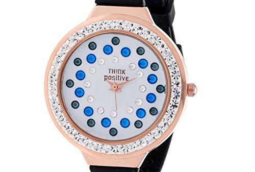 ladies-think-positiver-modell-se-w116r-star-dust-tunnel-medium-rose-bugel-silikon-farbe-blau