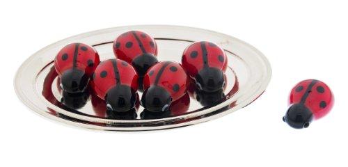 Mini Glass Ladybug by Ganz - 1