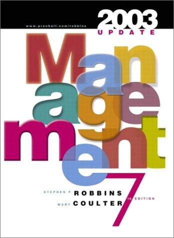 Management: 2003 Update, Seventh Edition